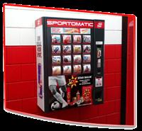 Автомат по продаже спортивных товаров