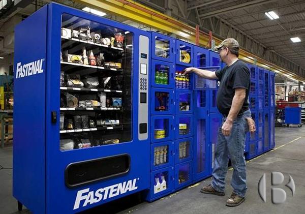 Промышленные торговые автоматы