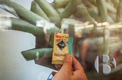 автомат по продаже картофеля фри