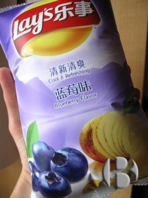 чипсы с оригинальным вкусом