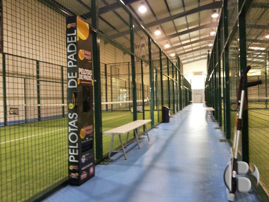 автомат по продаже теннисных мячей