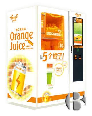 Вендинговые автоматы по продаже апельсинового сока Vingoo