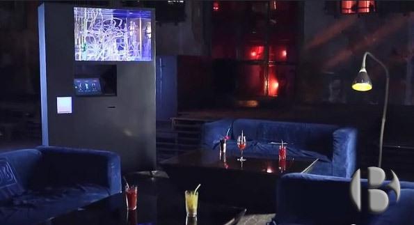 вендинговый автомат по смешиванию алкогольных коктейлей