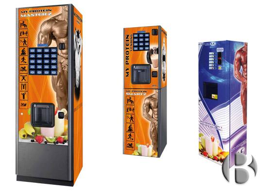 автоматы по продаже протеиновых коктейлей