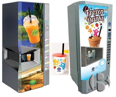 automatic smoothie vending machine