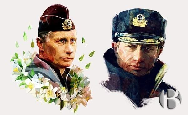 футболки с Путиным из ГУМа