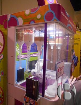 торговый автомат по продаже йогурта