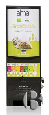 Механический автомат по продаже чая
