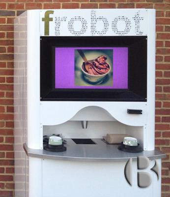 автомат по продаже замороженного йогурта