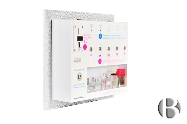 Автомат по продаже духов - парфюмвендинг