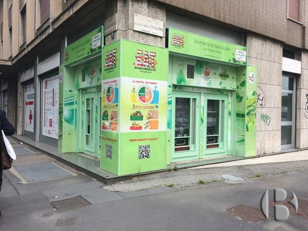 Вендинговый магазин в Милане