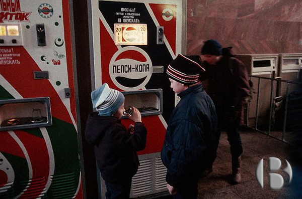 торговые автоматы в перестройку
