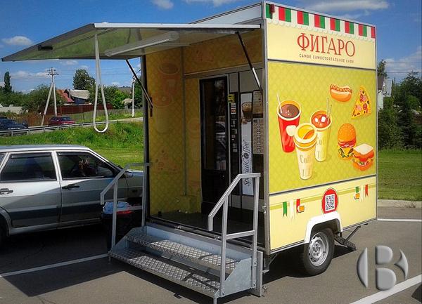 мобильное вендинговое кафе Фигаро