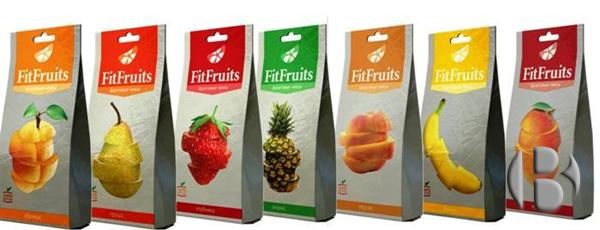 натуральные фруктовые чипсы