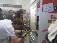 Автомат по продаже электронных сигарет VendShop