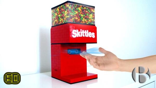 торговый автомат по продаже Скитлс