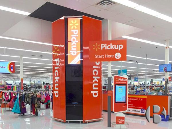Walmart торговый автомат
