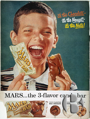 первая шоколадка Марс