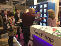 Автомат Element компании «VendShop». VendingExpo 2017