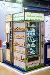Вендинговый аппарат «Здоровое питание» на стенде компании «РосАвтоматТорг». VendExpo 2017
