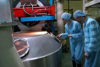 «День открытых дверей» производственного комплекса АЛМАФУД в Домодедово. Участок охлаждения жаренного кофе