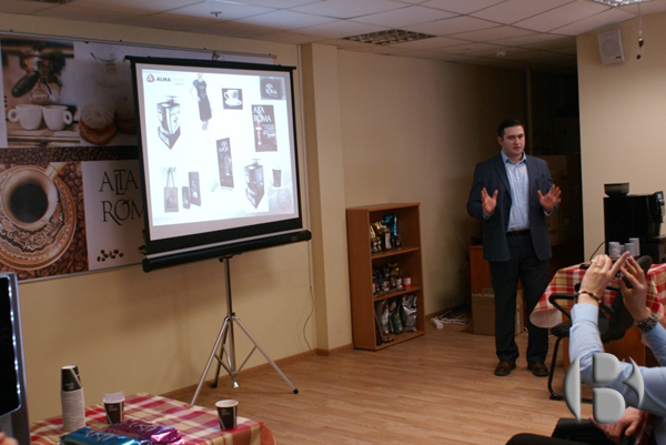 «День открытых дверей» АЛМАФУД. Выступление директора по продажам и маркетингу Григоряна Армана