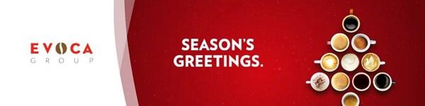 Поздравительная открытка с Рождеством от EVOCA Group