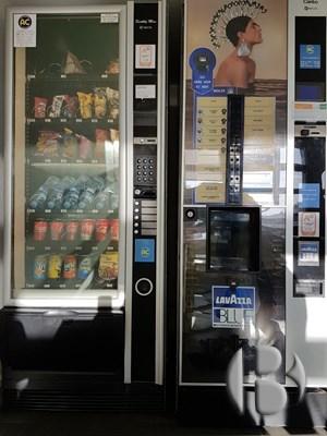 Вендинговые автоматы в Испании - кофейный и снековый автомат спарка