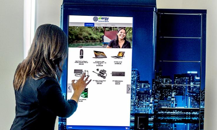 Сенсорная панель для управления вендинговыми автоматами HP Tech Cafe