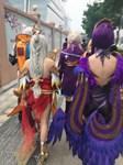 VMF 2018. Китай. Яркие краски в одежде