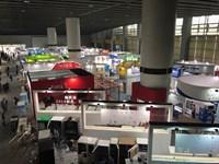 Выставка VMF 2018. Китай. Вид павильона сверху №3