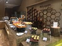 Выставка VMF 2018. Китай. Кафе с пирожеными