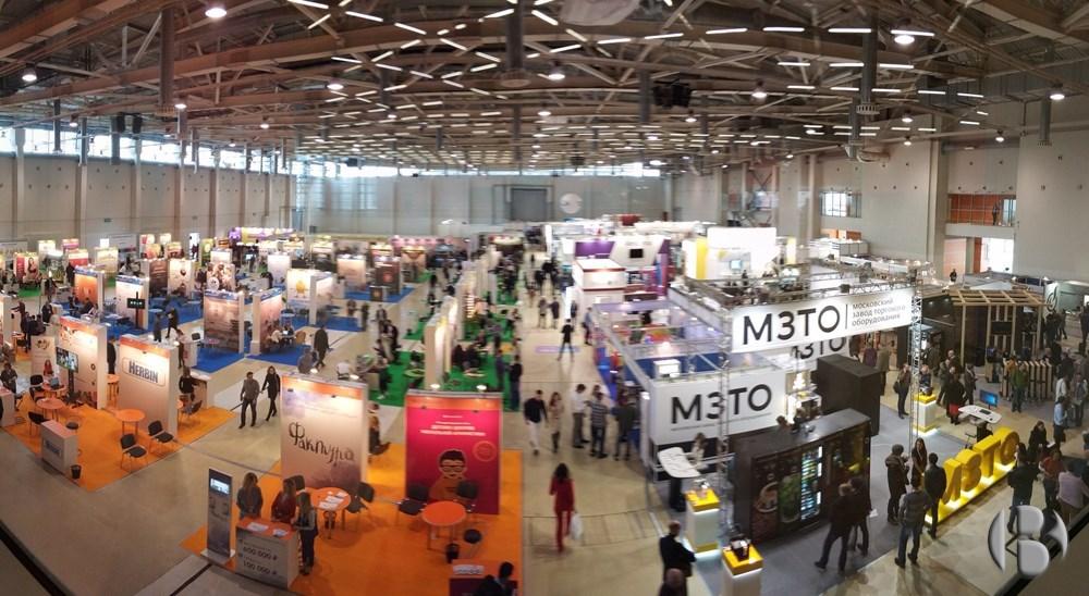 Общий вид зала выставок VendExpo 2018 и BUYBRAND 2018