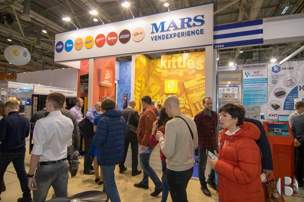 Стенд MARS  на VendExpo 2018