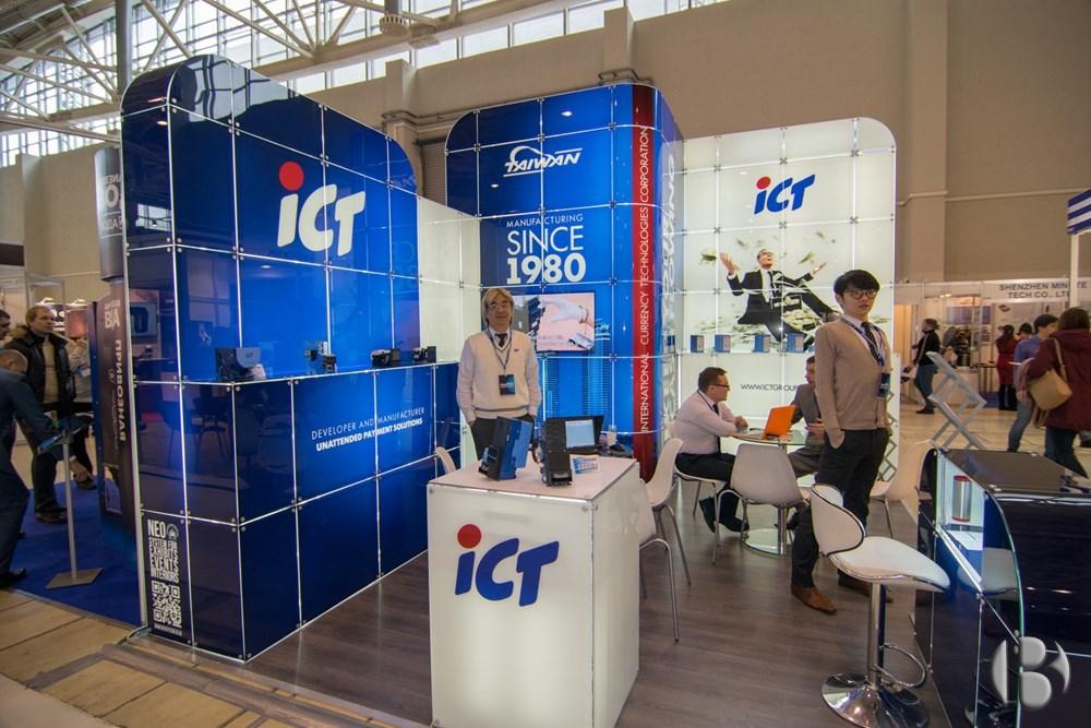Яркий стенд ICT на VendExpo 2018