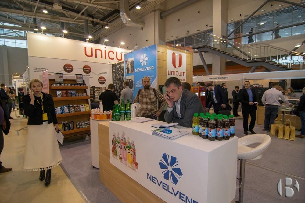 Стенд UNICUM на VendExpo 2018