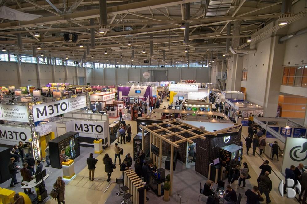 Вид на выставку VendExpo 2018