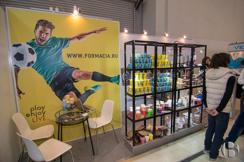 Компания  «Формация» - производитель бумажных стаканчиков для вендинговых автоматов на выставке VendExpo 2018