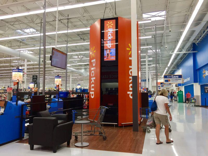 Пикап-башня Walmart
