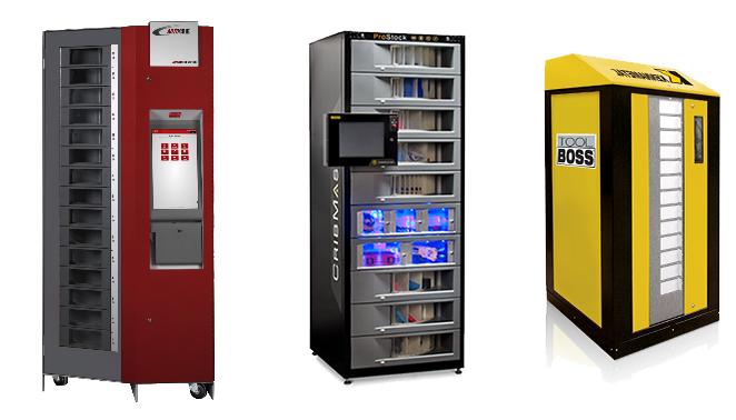 Автоматы RoboCRIB® от AutoCRIB®, семейство ProStock™ от CribMaster™(Stanley Black & Decker), Rotopoint из линейки ToolBOSS™ от Kennametal®