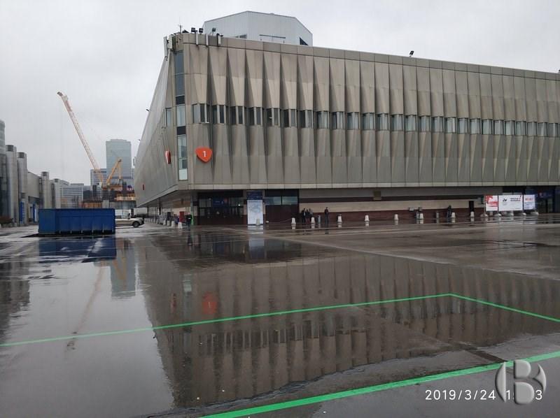 Павильон 1 на ЦВК Экспоцентр с выставкой VendExpo