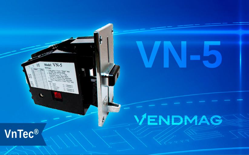 Монетоприемник VN-5 производства компании VNTec: модель KS VN 5