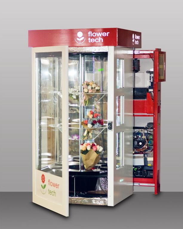 Вендинговый аппарат для цветов, букетов, тортов от Инфотехника