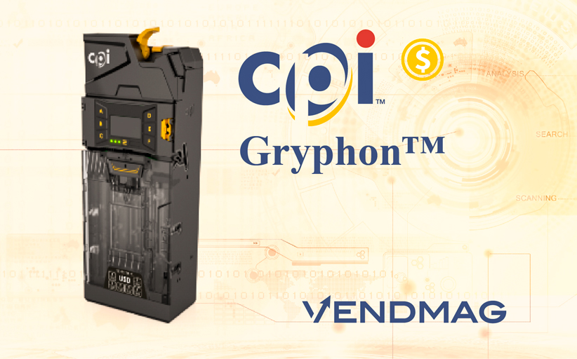 Монетоприёмник Gryphon от Crane Payment Innovations (CPI)