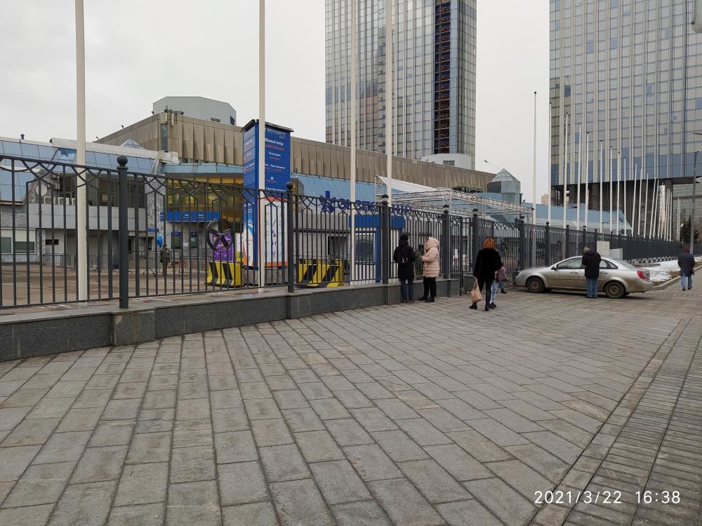 VendExpo 2021. Южный вход