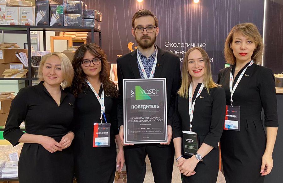 Палочки из березы на Международный конкурс Vending & Automated Services Award и победитель Talivenda!
