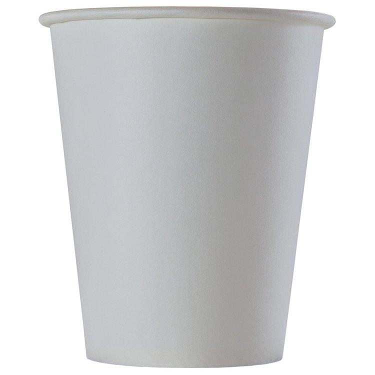 Одноразовый бумажный стакан БЕЛЫЙ 165 мл