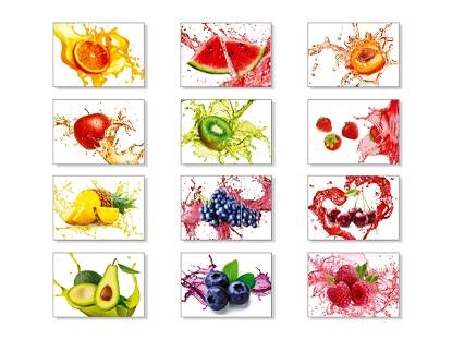 Магниты фруктики