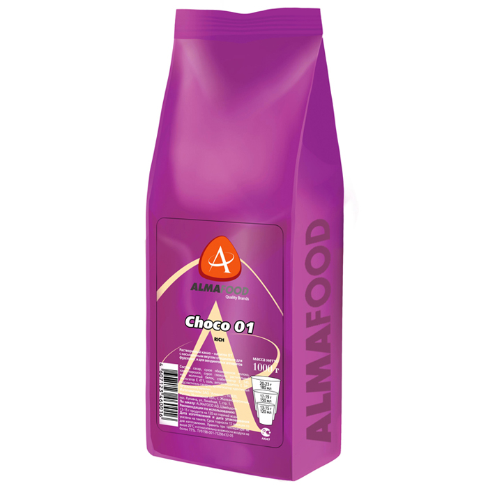 Шоколад Almafood Choco Rich в гранулах (1 кг)