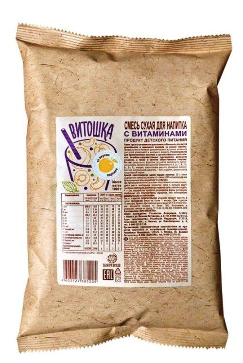 Смесь сухая с витаминами для НАПИТКА «ВИТОШКА», для детей дошкольного и школьного возраста